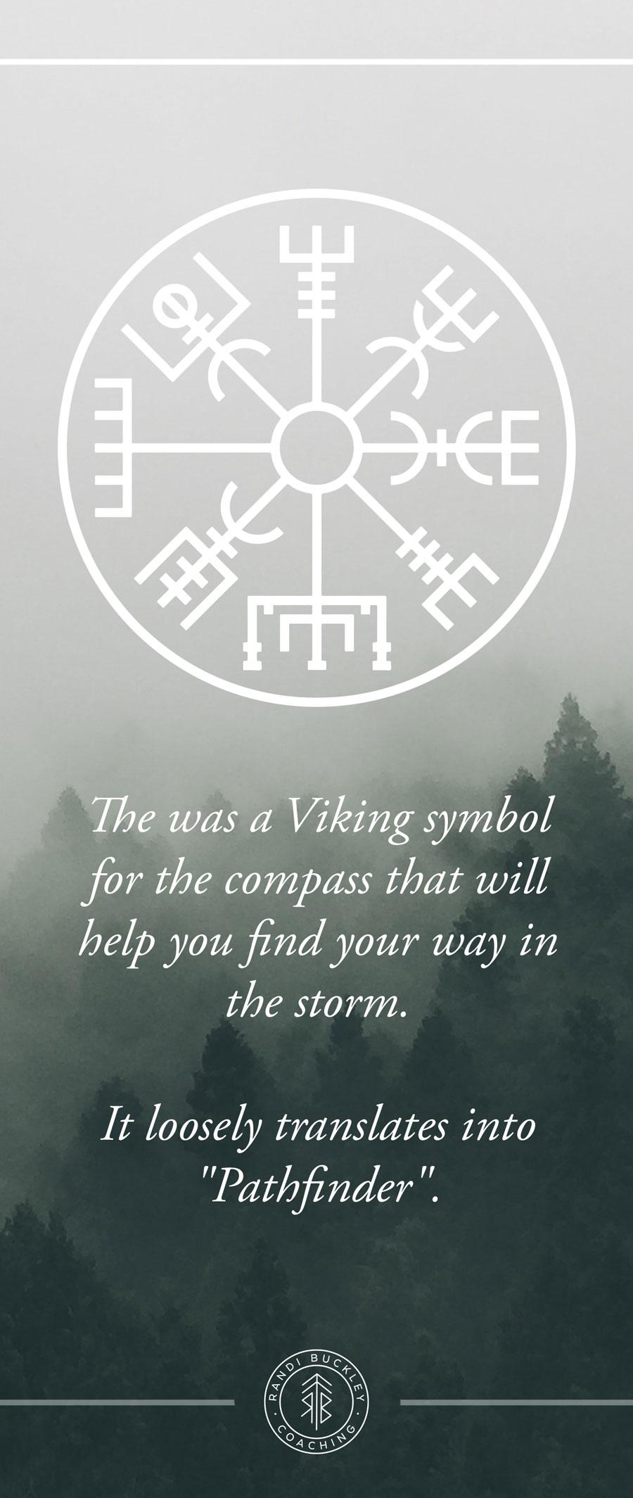 Viking Symbol for Pathfinder Viking Woman Workshop