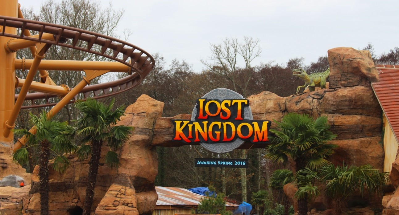 Lost Kingdom, Paultons Park