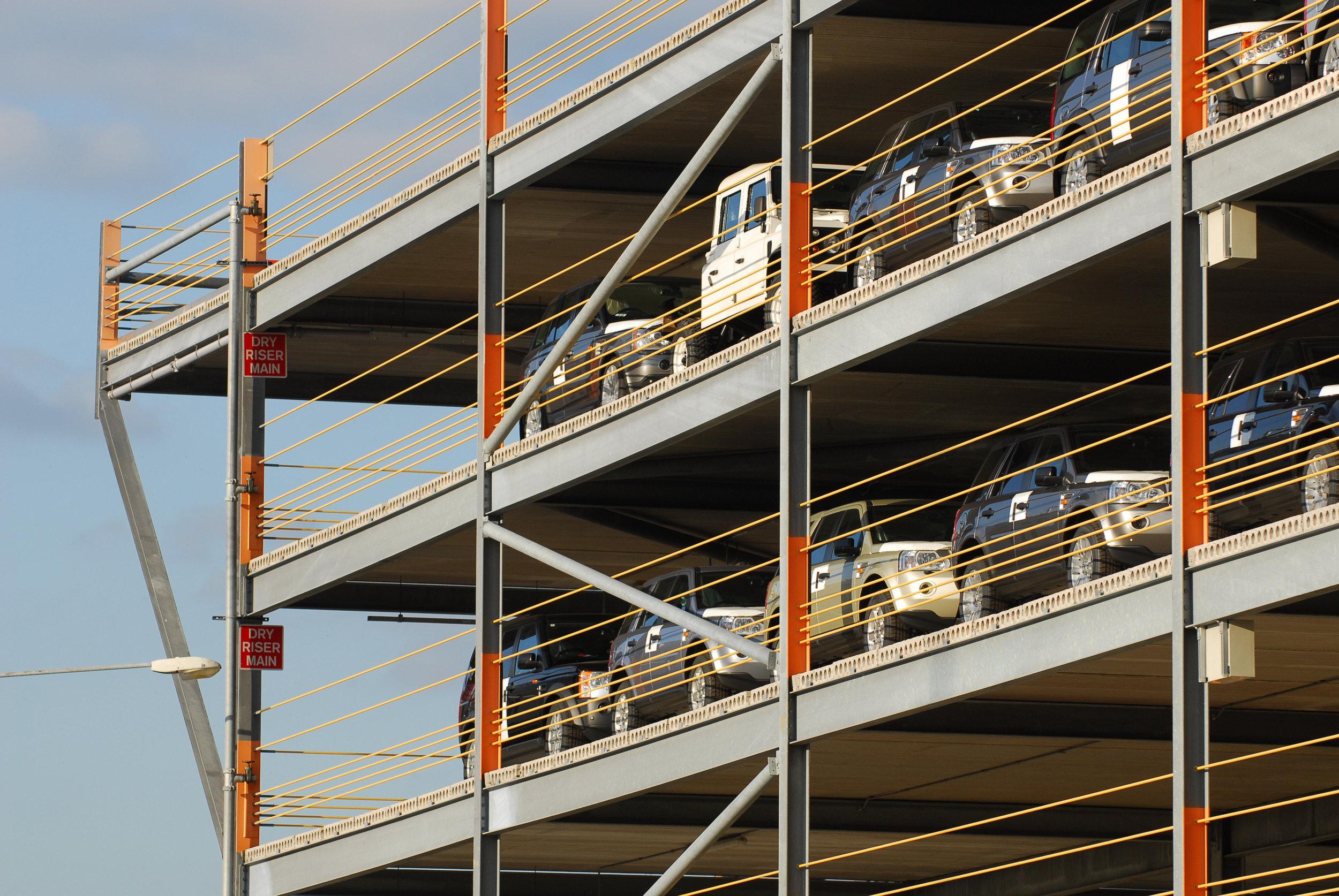 Car Storage Platform ABP Southampton