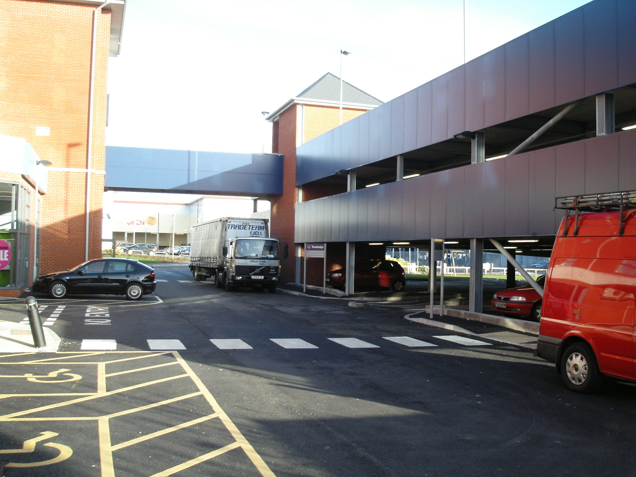 Car Parks Camberley Travelodge