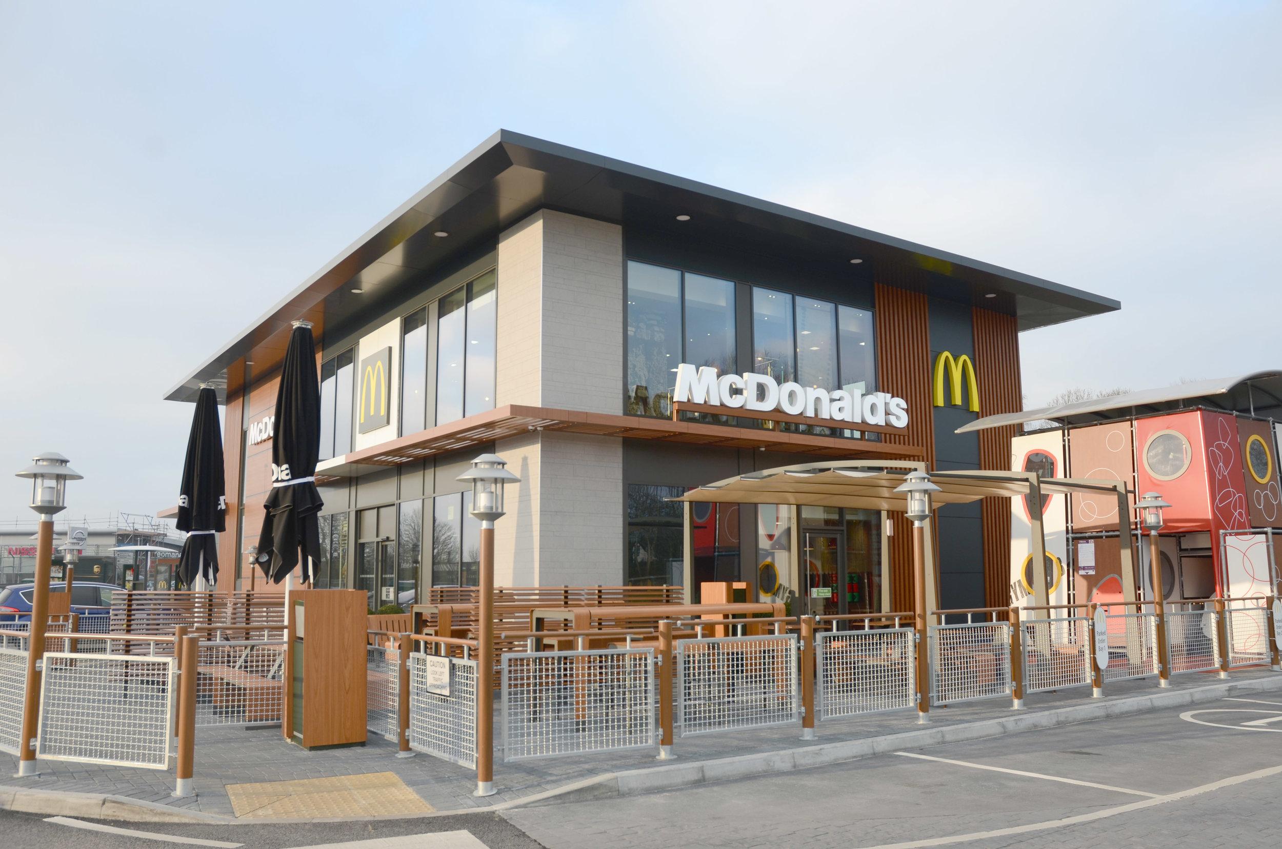 McDonalds. Waterloo Park