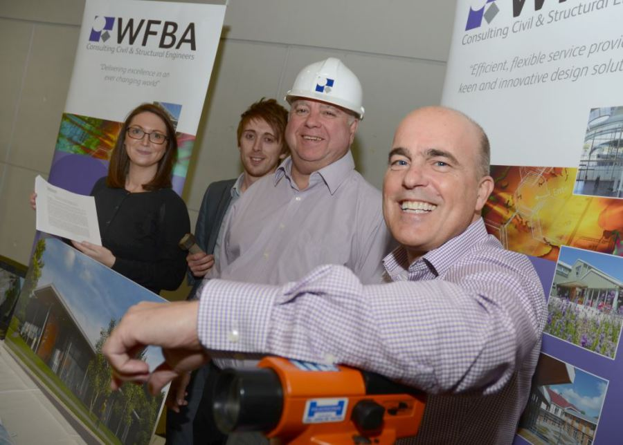 Romsey-based consulting civil and structural engineering company WFBA attending the University of Southampton Careers Fair