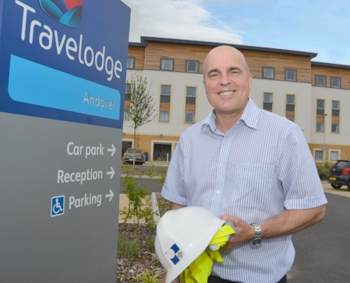 Nick Groves at the Andover Travelodge