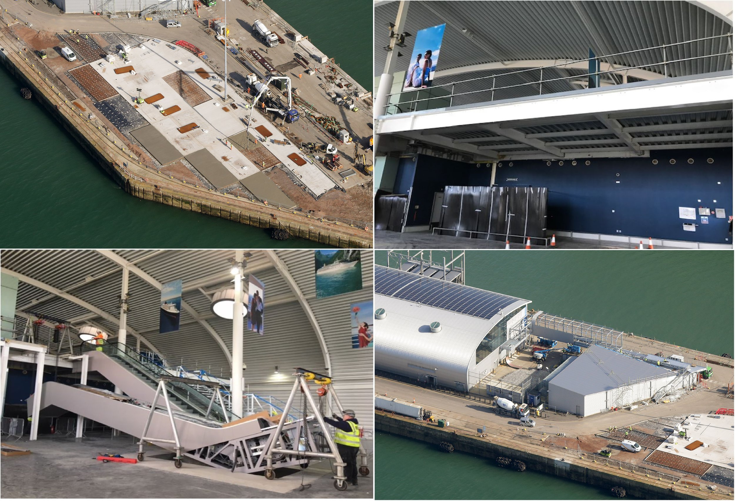 Ocean Cruise terminal Modifications, Southampton