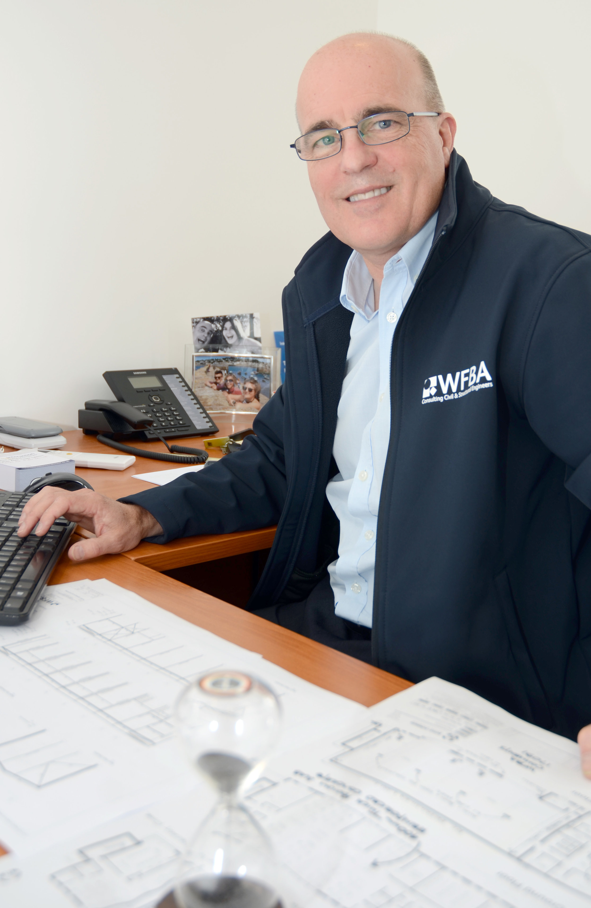 Nick Groves, one of the founding directors of Romsey based WFBA consulting civil and structural engineers