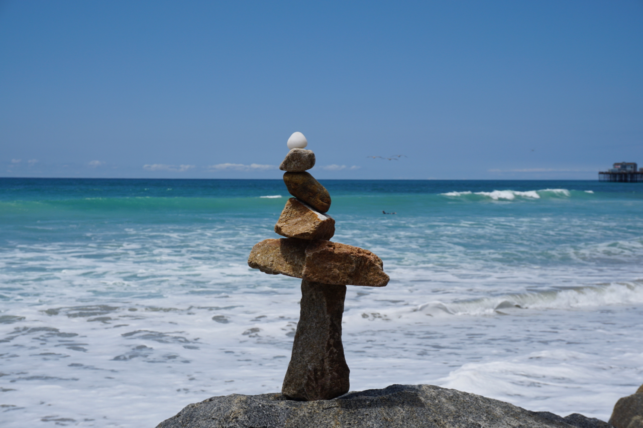 Rock Stacking The Seahorse Oceanfront Villa