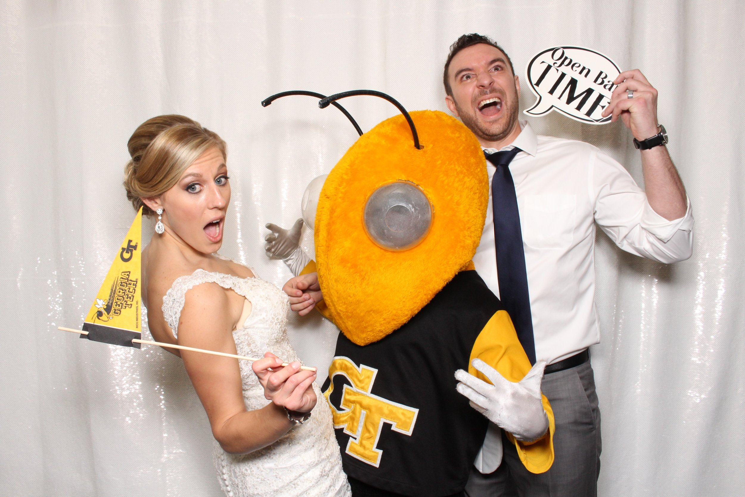 Buzz with the Bride and Groom
