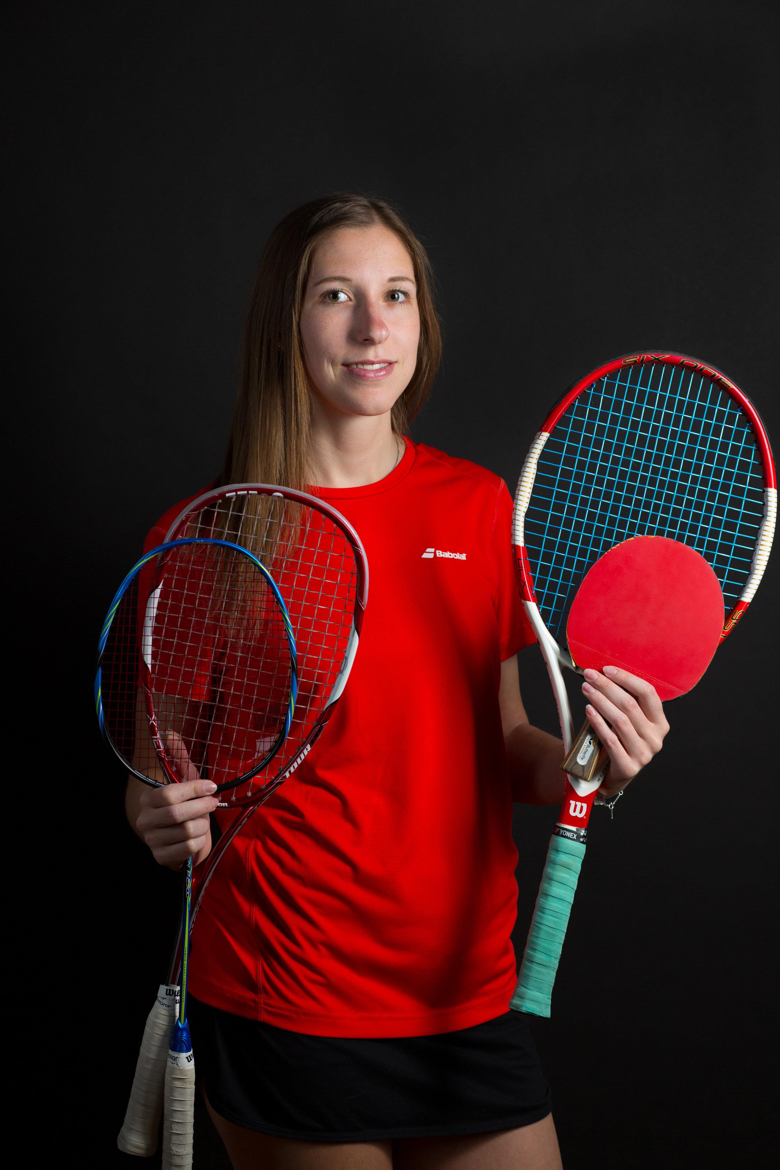 Mit den Weltmeistern die tollsten Racket-Sportarten ausprobieren – das gibt's nur mit der Sportbox! - CHRISTINE SEEHOFER
