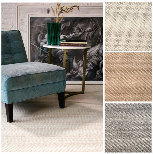 Featuring our custom Elgin Wool Rugs. Come and see the rest of our collections at ICFF NYC this weekend