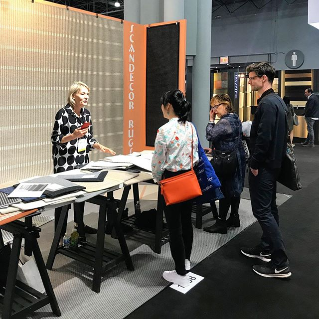 First day at ICFF come visit us at booth 1966 !