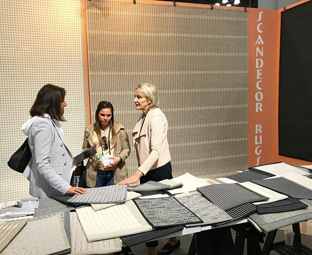 Come see Scandecor's selection of samples at ICFF Day 3! One more day left!