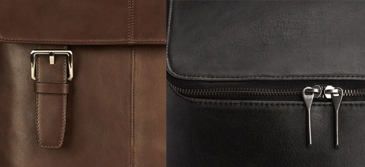 Quality materials give backpacks a more sophisticated and professional look.