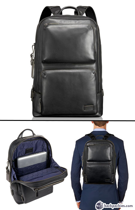 Tumi Harrison Archer backpack for men - We list the best men's backpacks for work. Come see which other business backpacks made the list!