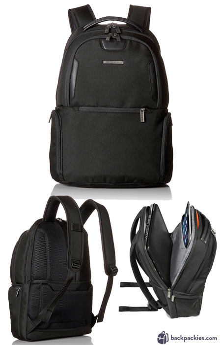 Briggs and Riley Atwork laptop backpack for men - We list the best men's backpacks for work. Come see which other business backpacks made the list!