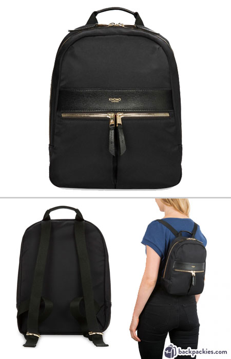 Knomo Beauchamp Mini Backpack - Best womens small backpacks - Learn more at backpackies.com
