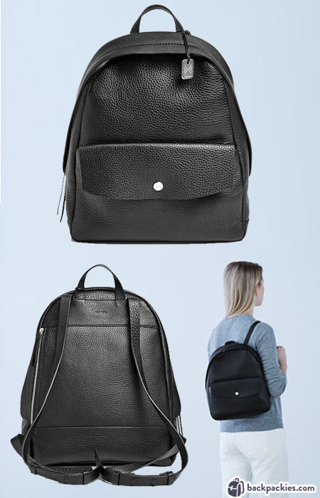 Skagen Aften Women's Backpack - Mini Leather Backpack for women - Find out more at backpackies.com