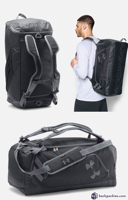 Under Armour Duffel Backpack - Best Crossfit Backpack - Learn more at backpackies.com
