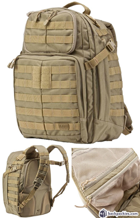 5.11 Rush 24 tactical backpack - best crossfit backpack - Find out more at backpackies.com