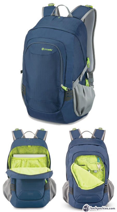 Pacsafe Venturesafe 25L GII travel backpack - Tom Bihn Synapse 25 alternative - backpackies.com