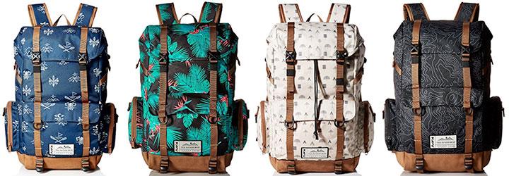 KAVU Camp Sherman backpack - backpacks like Herschel Little America - Learn more at backpackies.com