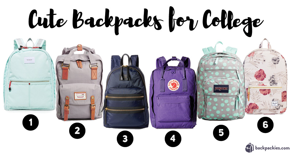 Cute backpacks for college 2017