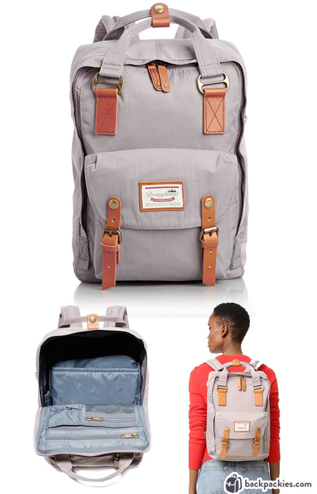 Doughnut women's backpack - Super cute backpacks for college and where to buy them. See the full list at backpackies.com