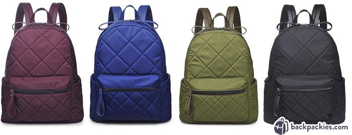 Sol and Selene - quilted backpacks like Vera Bradley