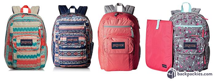 Jansport backpacks like Vera Bradley
