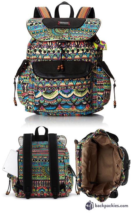 Sakroots Flap Backpack - Bags like Vera Bradley