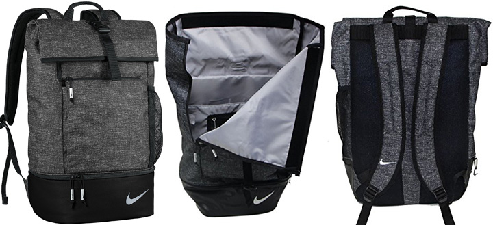 Nike Sport III golf backpack with bottom compartment