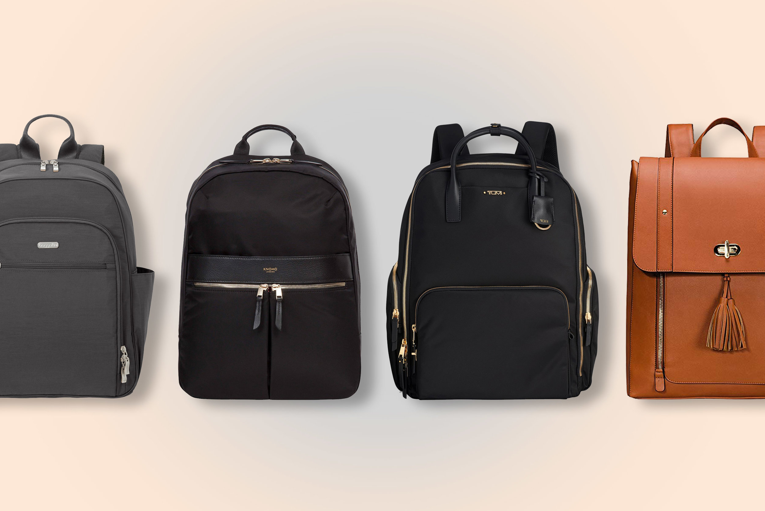 SOPHISTICATED - 10 best women's work backpacks.