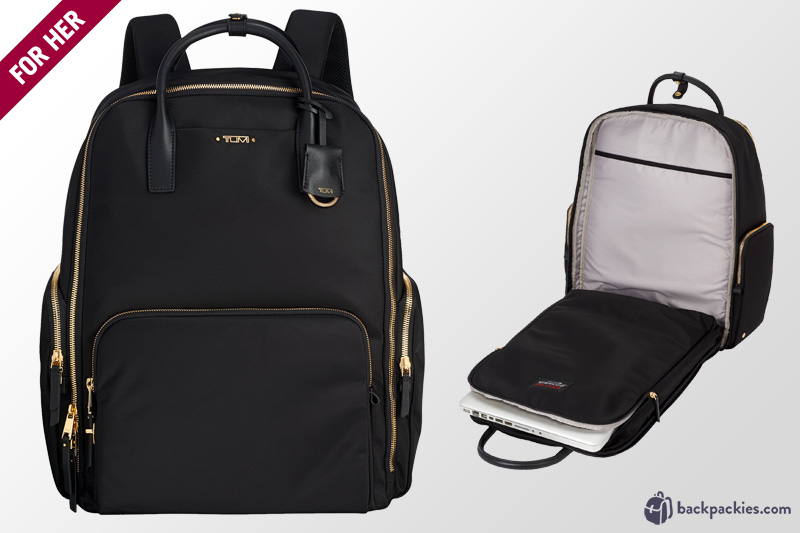 Best Tumi travel bag for women - Tumi Ursula T-Pass backpack