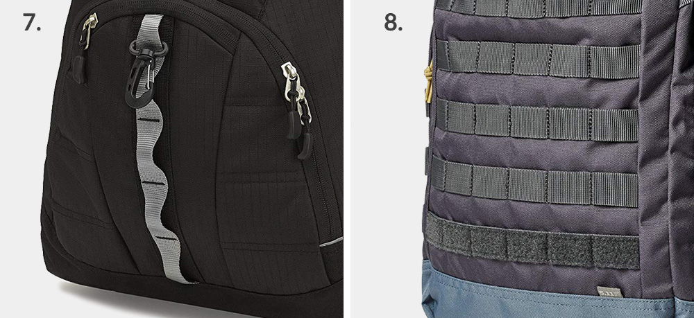 How to use the loops on my backpack - daisy chains and MOLLE attachment loops