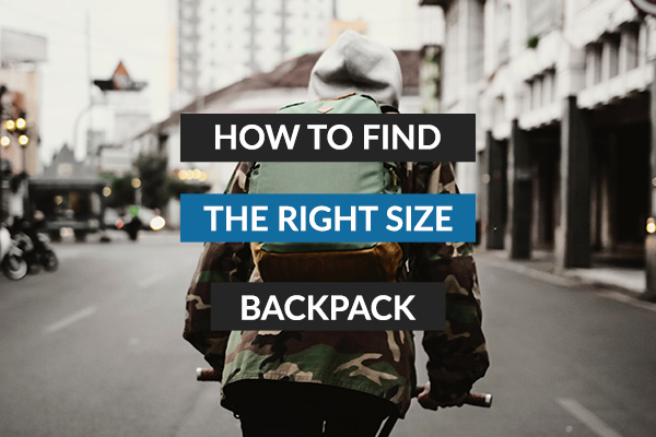 How a backpack should fit