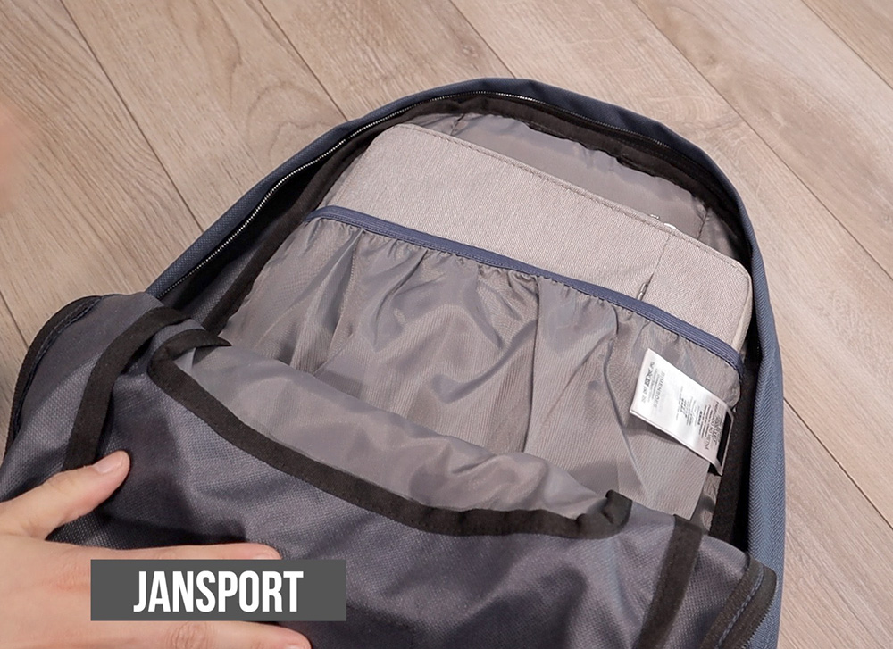 JanSport Right Pack laptop sleeve