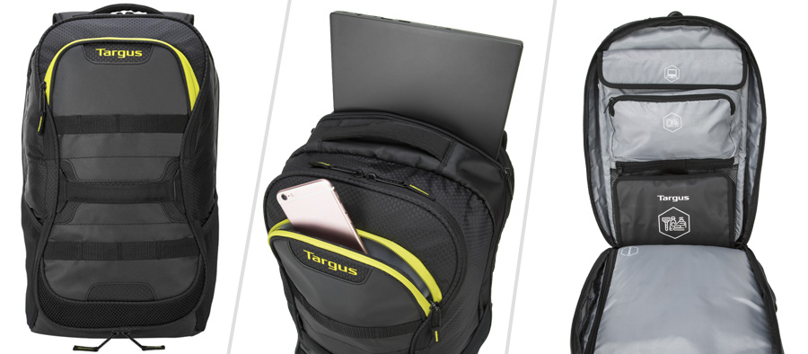 Targus Work + Play Fitness backpack - gym to work bag