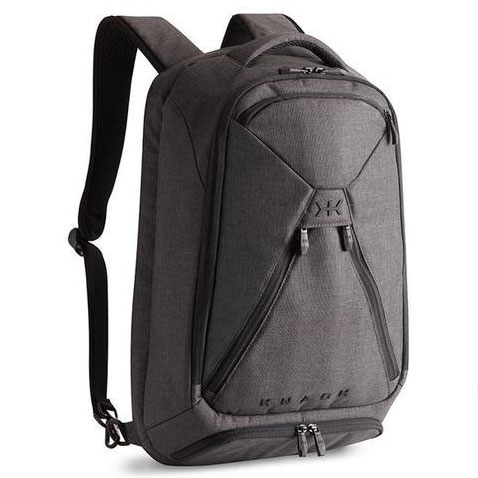 KNACK MEDIUM EXPANDABLE TRAVEL BACKPACK - Opens like a suitcase. to fit 2-3 changes of clothes