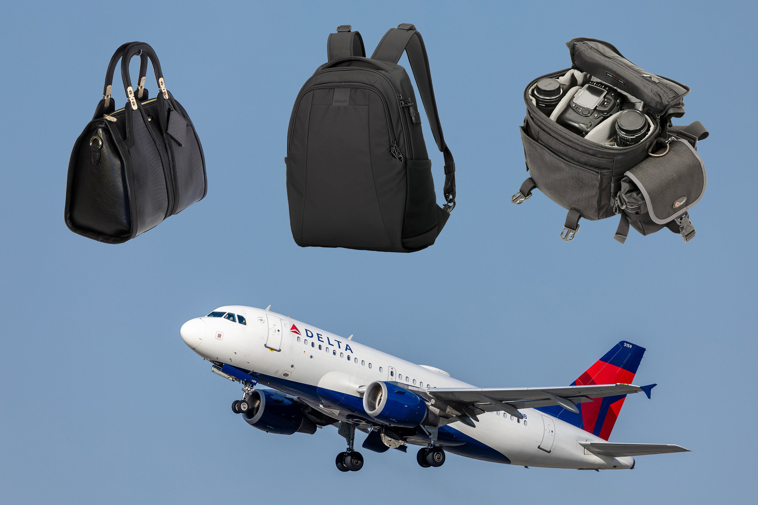 Delta Airlines - Is a backpack considered a personal item?
