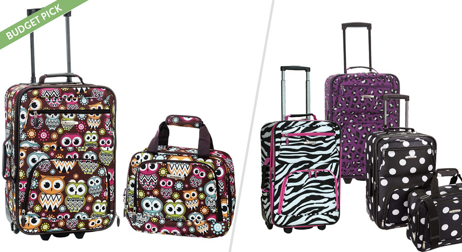 Rockland suitcases for teens