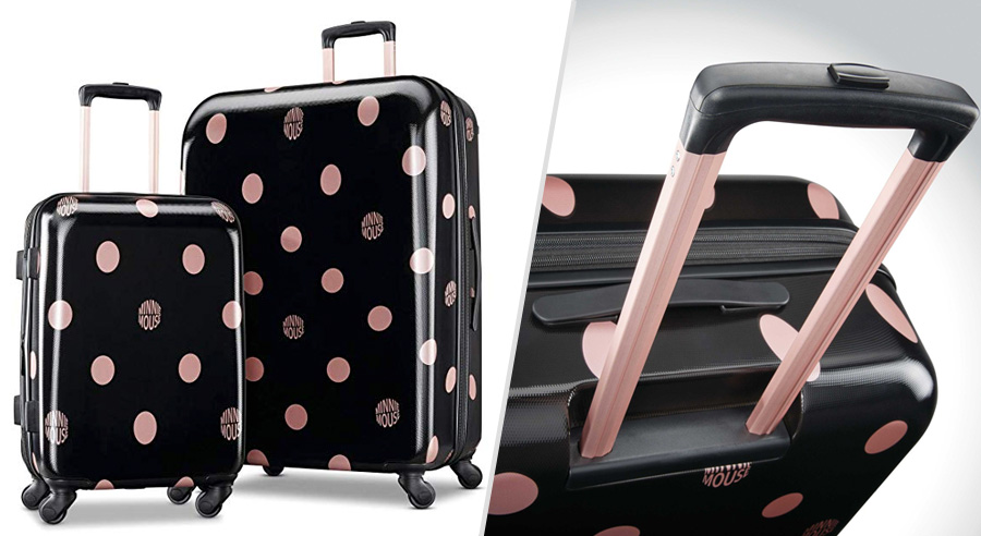 American Tourister Disney-themed teen girl luggage