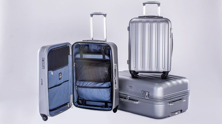 Example of hardshell luggage
