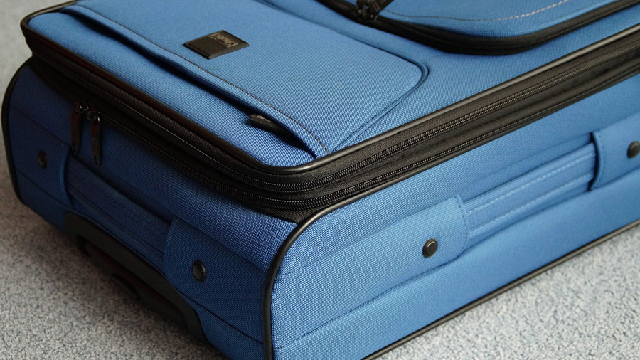 Example of softside luggage