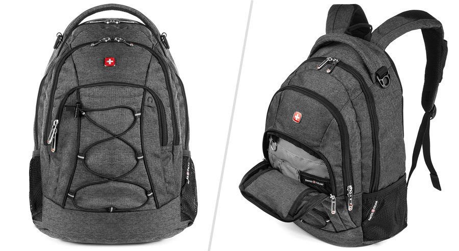 Swiss Gear bungee backpack - Backpacks similar to North Face