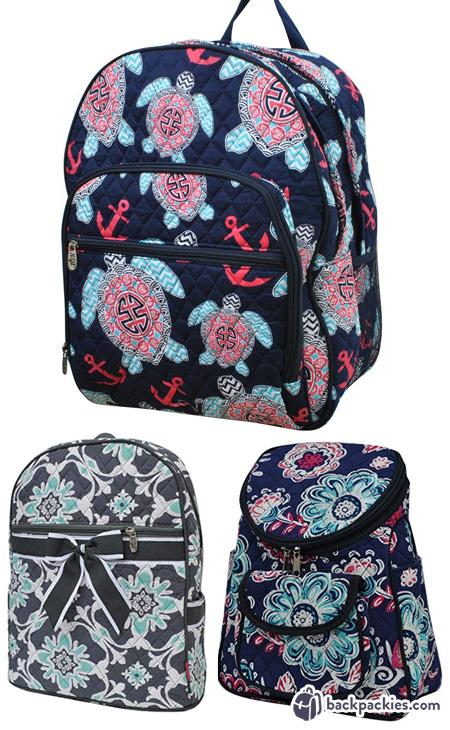 NGIL quilted backpacks like Vera Bradley