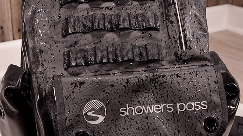 TPU coating on the  Showers Pass Utility Backpack