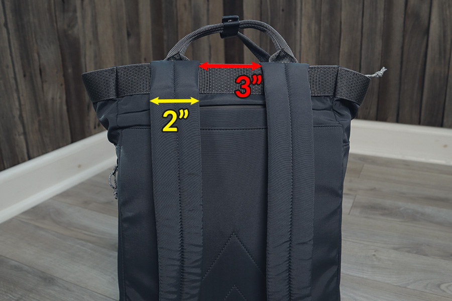 Topologie Haul backpack fit and size