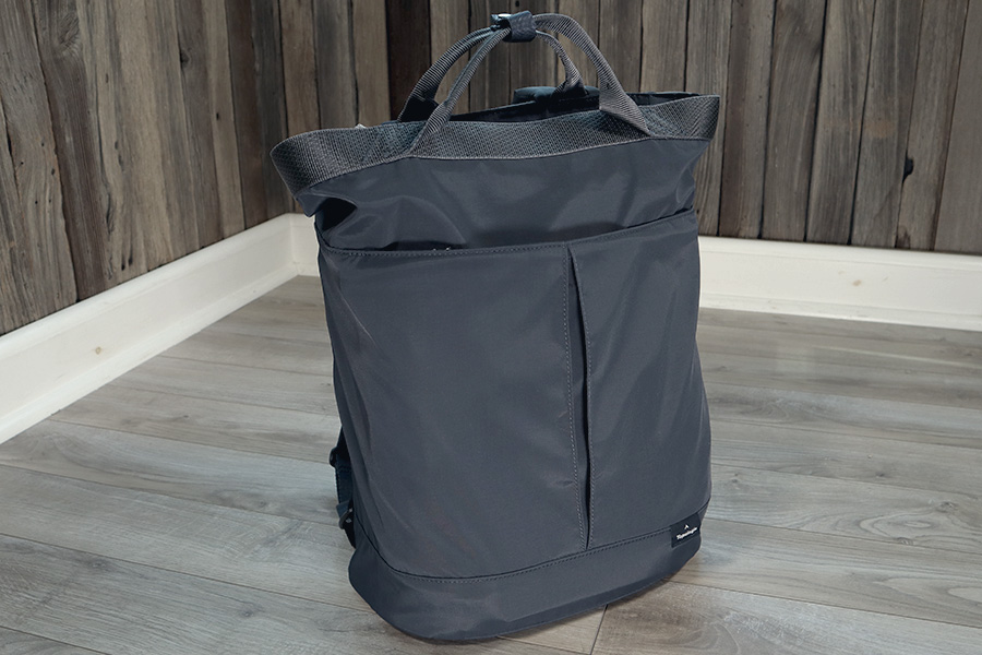 Topologie Haul navy convertible tote backpack