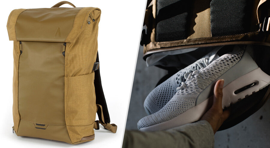 SHOE STRIP Clear storage and carry bag for all shoes also used to carry other personal items.