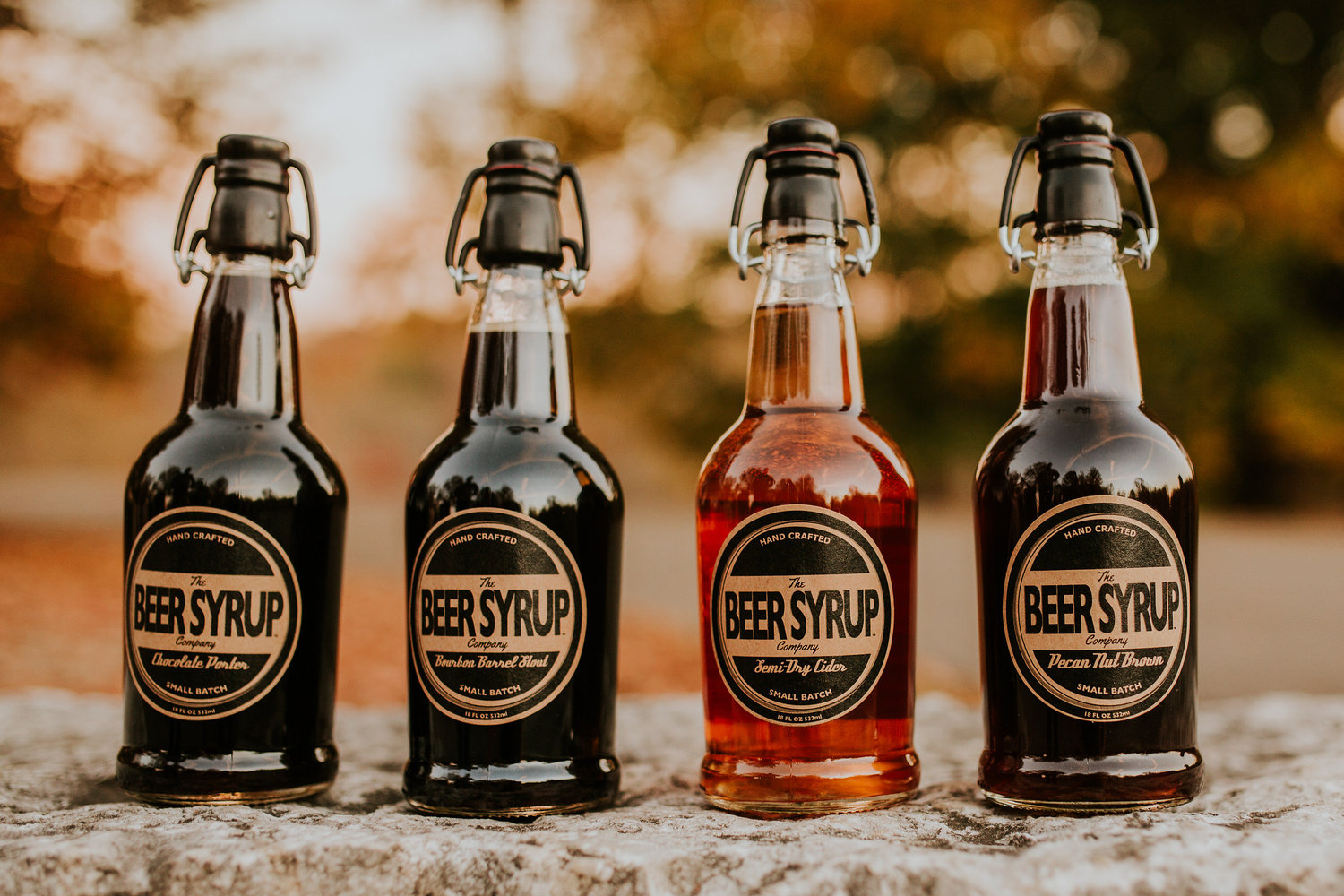 Beer Syrup is sold at Blooms