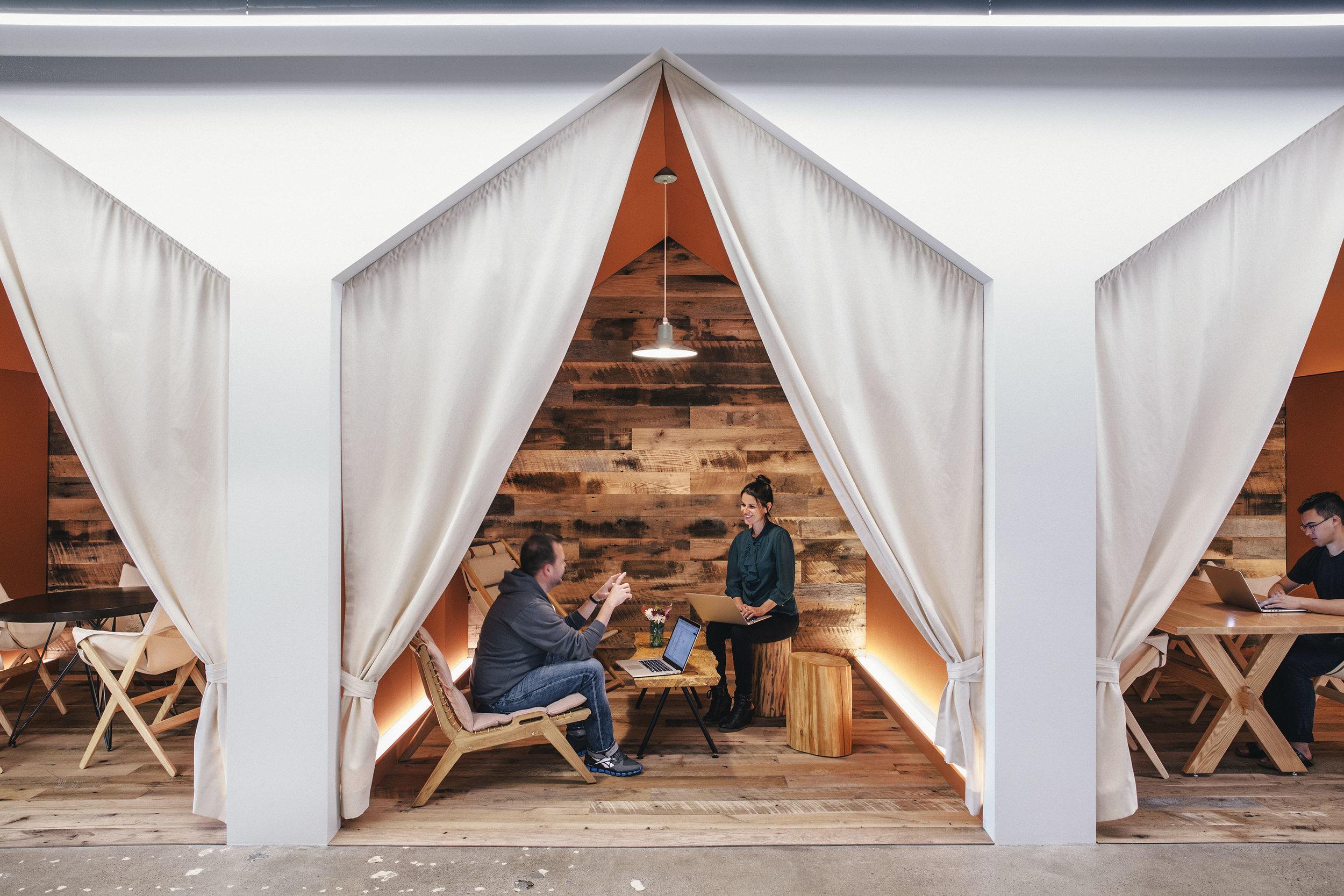 Airbnb Headquarters Workstation